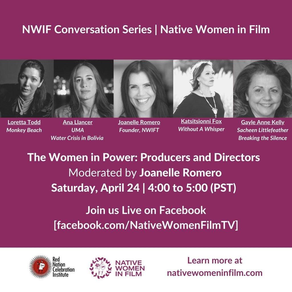 NWIF Conversation Series: Native Women in Film